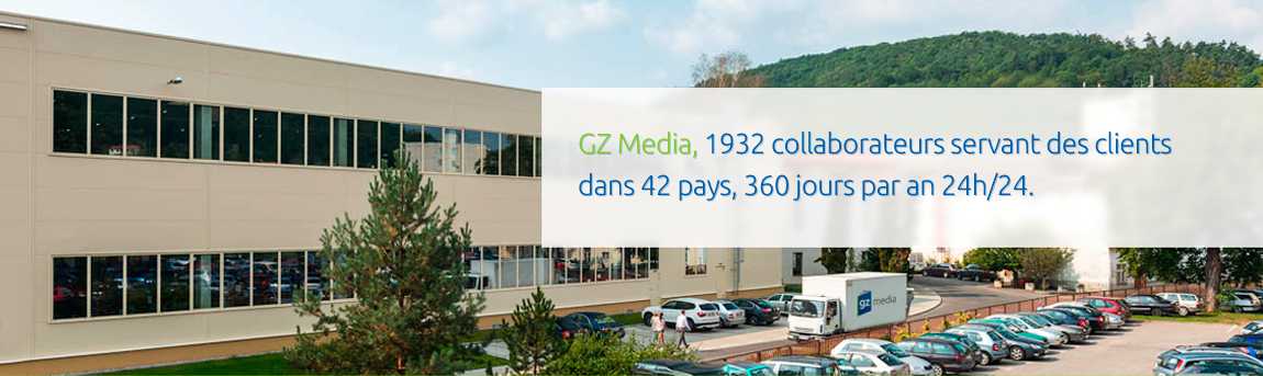 GZ Media 1932 collaborateurs servant des clients ...